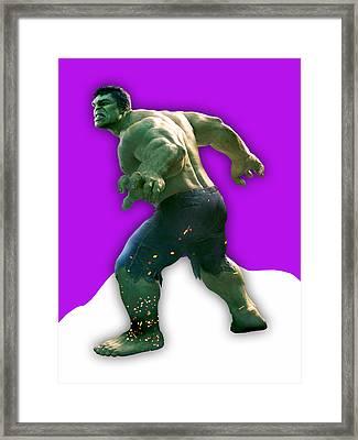 Hulk Collection Framed Print by Marvin Blaine