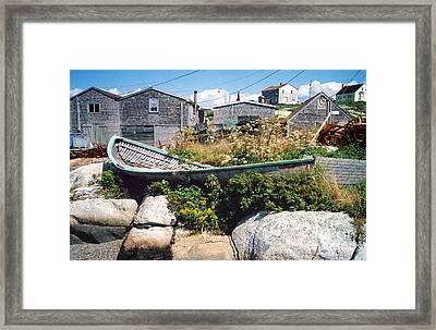 Hull Framed Print by Andrea Simon