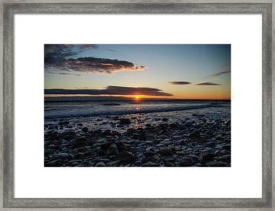 Hull Massachusetts Sunrise Framed Print by Bill Cannon