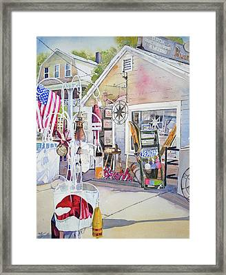Hull Of A Shoppe Framed Print
