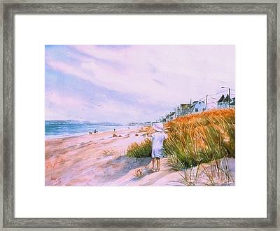 Hull's Splendor Framed Print by Laura Lee Zanghetti