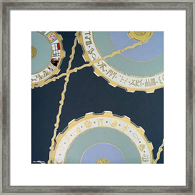 Human Energy Makes The World Goes On Framed Print by Ingrid Stiehler