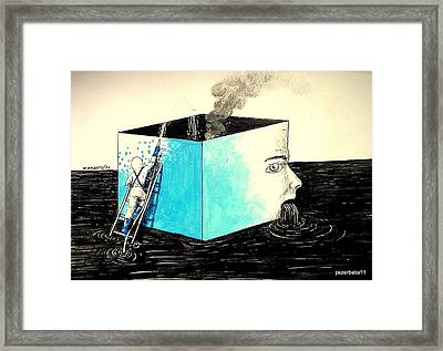 Human Imminent Collapse Framed Print by Paulo Zerbato