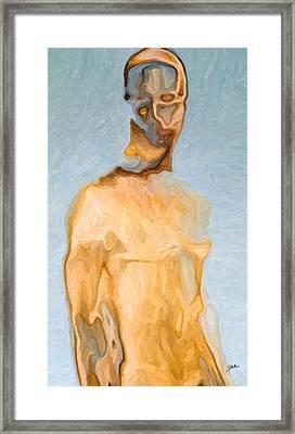 Human Prototype Framed Print by Joaquin Abella