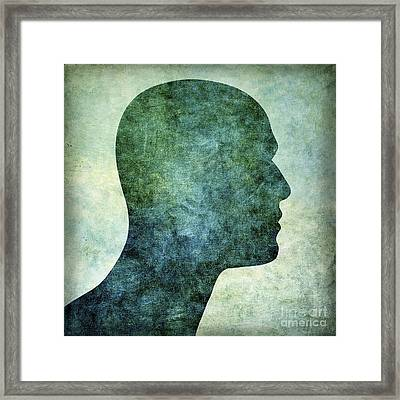 Human Representation Framed Print by Bernard Jaubert