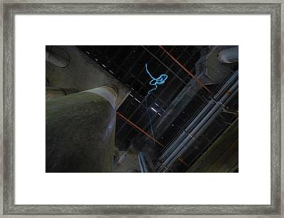 Human Sized Cat Toy Framed Print