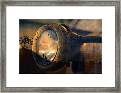 Human Soul With Knowledge Framed Print by Nicole Frischlich