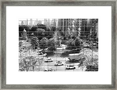 Framed Print featuring the photograph Human Zoo by Mitch Cat