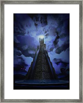 Humanity's Last Stand Framed Print
