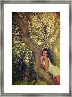 Humanize Framed Print by Laurie Search