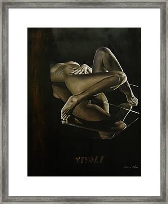 Humanografia 2 Framed Print by Romeo Niram