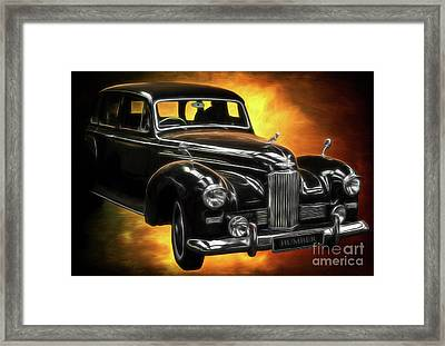 Humber Pullman Limousine  Framed Print