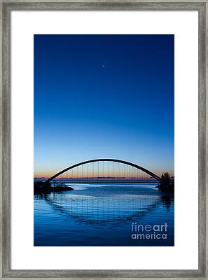 Humber River Dawn Framed Print