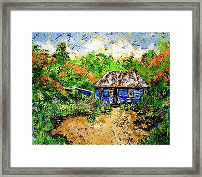 Humble Beginnings Framed Print by Nickola McCoy-Snell