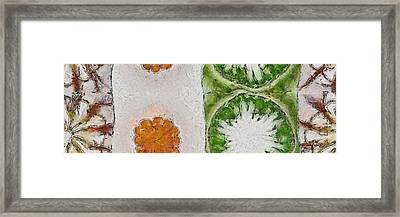 Humbling Beauty Flowers  Id 16165-124209-23400 Framed Print by S Lurk