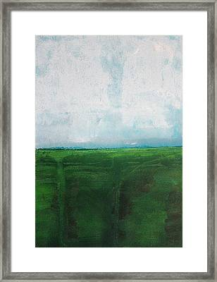 Humboldt Original Painting Framed Print by Sol Luckman