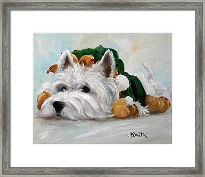 Humbug Framed Print by Mary Sparrow