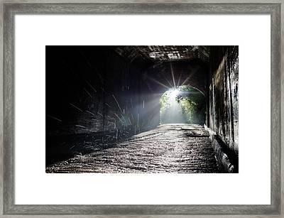 Humidity Framed Print by Jon Beard
