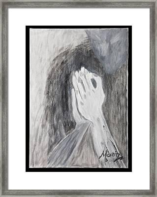 Humility Framed Print by Marinela Croitoru