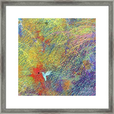 Hummer Passion Framed Print