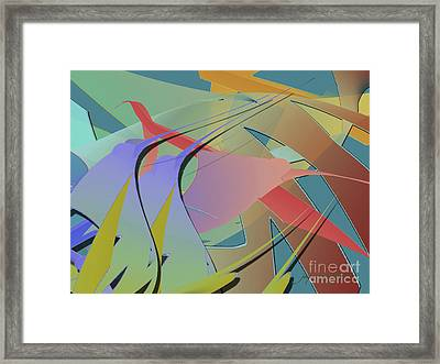 Hummingbird Convention Framed Print