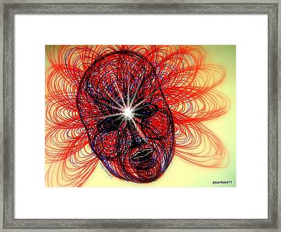 Humming Mass Of Raw Experience Framed Print by Paulo Zerbato