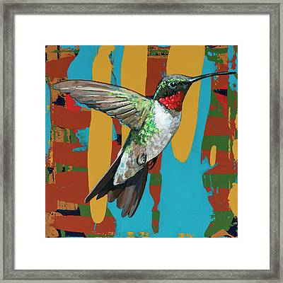 Hummingbird #10 Framed Print by David Palmer