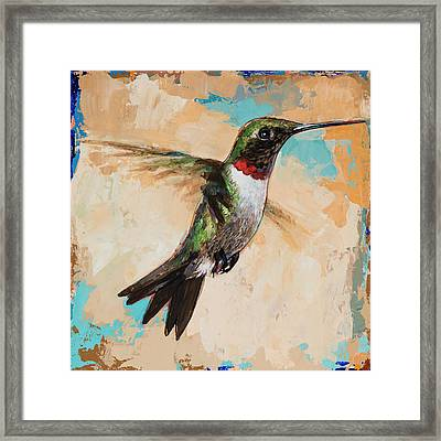 Hummingbird #9 Framed Print by David Palmer
