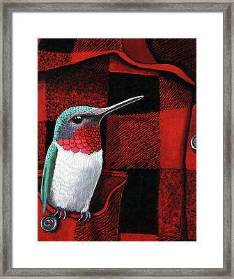 Hummingbird Memories Framed Print