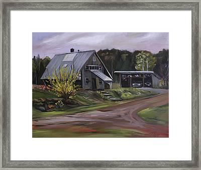 Humpals Barn Framed Print