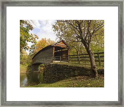 Humpback Bridge Afternoon Sun Framed Print