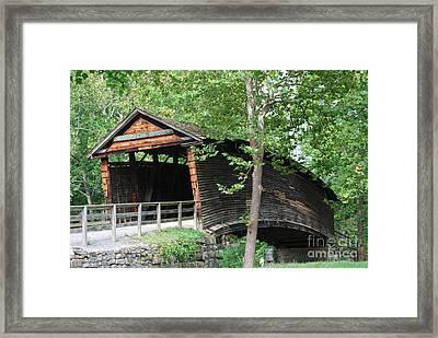 Humpback Bridge Framed Print by Eric Liller