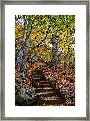 Humpback Rock Trail Framed Print