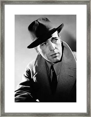 Humphrey Bogart Framed Print