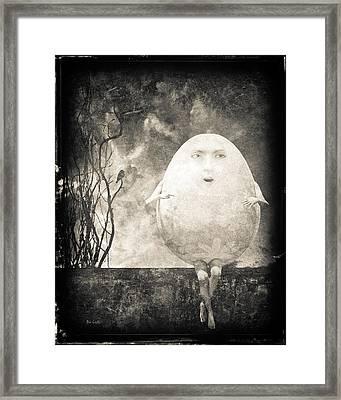 Humpty Dumpty Framed Print by Bob Orsillo