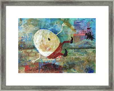 Humpty Dumpty Framed Print by Jennifer Kelly
