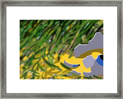 Humpty Framed Print by Tom Dickson