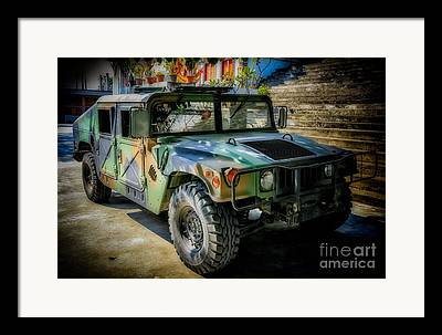 Hmmwv Framed Prints