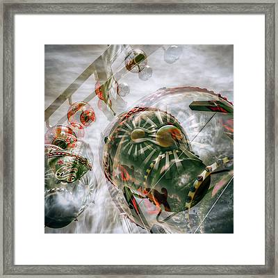 Framed Print featuring the photograph Hung Up And Strung Out by Wayne Sherriff