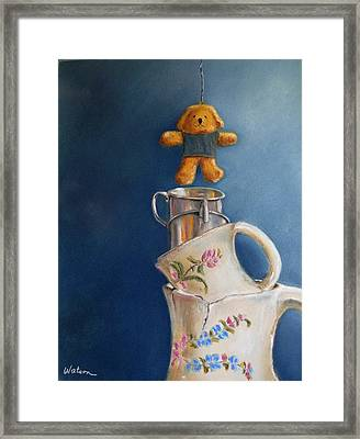 Hung Up Framed Print by Ceci Watson