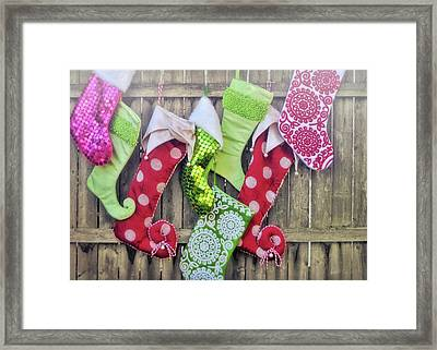 Hung With Care Framed Print by JAMART Photography