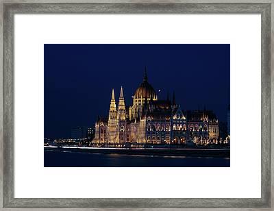 Hungarian Parliament Building #1 Framed Print