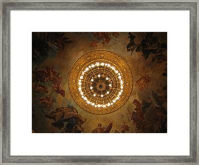 Hungarian State Opera House For Prints Framed Print