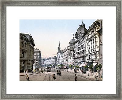 Hungary: Budapest, C1895 Framed Print by Granger