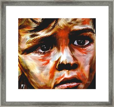Hunger  Number 2 Framed Print by Michelle Dick