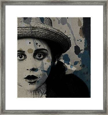 Framed Print featuring the mixed media Hungry Eyes by Paul Lovering