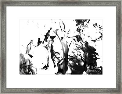 Hungry Fire Framed Print by Patrick Guidato