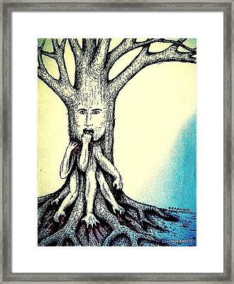 Hungry For Knowledge Framed Print by Paulo Zerbato