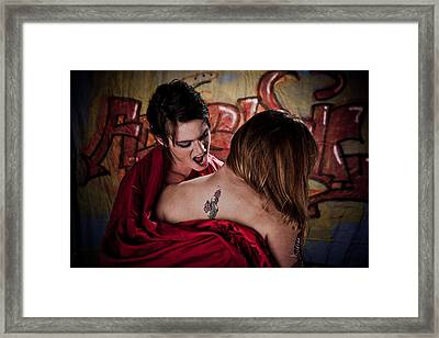 Hungry For ... Framed Print by Scott Sawyer