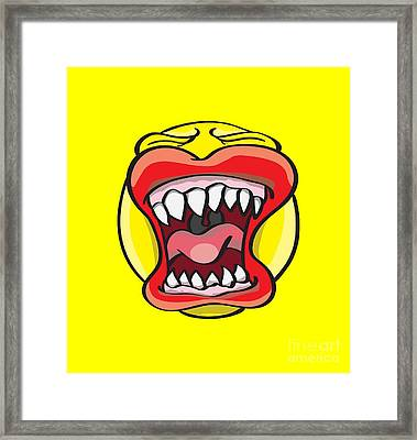 Hungry Pacman Framed Print by Jorgo Photography - Wall Art Gallery